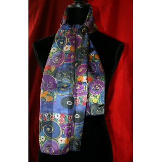 Gustav Klimt Scarf - The Virgin