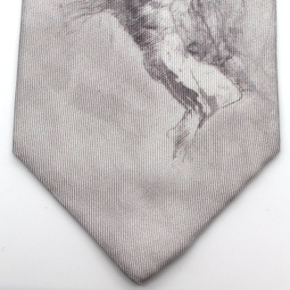 Silk tie - Auguste Rodin - The star