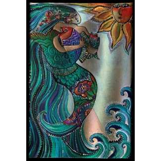 Diario Paperblanks Laurel Burch : Canto di Sirena - MINI
