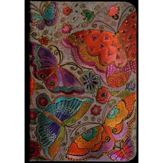 Diario Paperblanks Laurel Burch : Mariposas - MINI