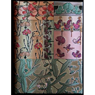 Carnet Paperblanks - Alfons Mucha - Muflier - MICRO