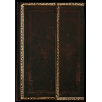 Address book Paperblanks - Old Leather Black Moroccan - MINI