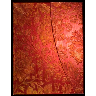 Paperblanks Journal diary - Brocaded Paper : Golden Fuchsia - ULTRA