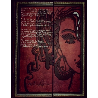 Paperblanks Journal diary - Amy Whinehouse - ULTRA