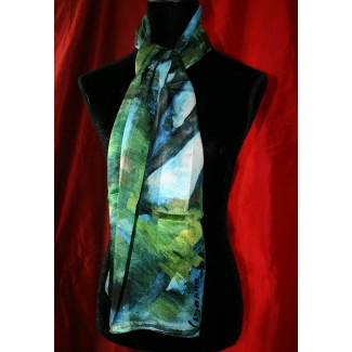 Foulard Paul Cézanne - Le grand pin