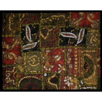Paperblanks Guest Book - Tribal Embroidery : Sequined Topaz