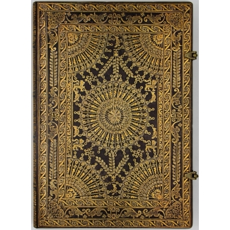 Carnet Paperblanks - Ventaglio Baroque Marrone - GRAND
