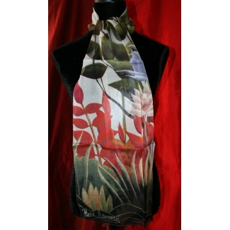 Henri Rousseau Scarf - Jungle