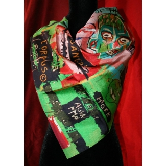 Basquiat Scarf - In Italian