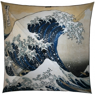 Umbrella - Hokusai - The Great Wave of Kanagawa