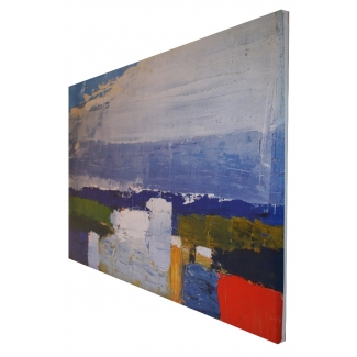 De Staël print on canvas - Paysage du Midi