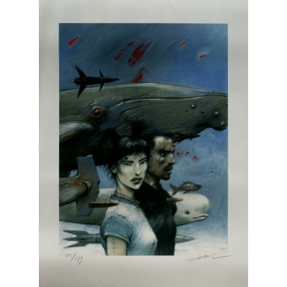 Enki Bilal - The color of the air - Signed & Numbered