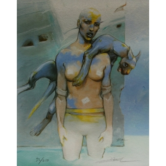 Enki Bilal - Vertebrati I - Signed & Numbered