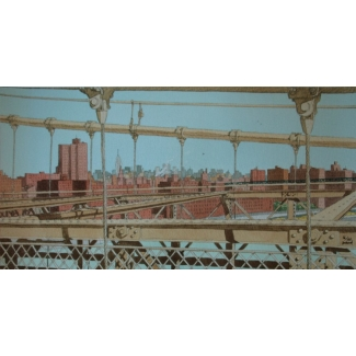 Juillard - Brooklyn Bridge - firmada y numerada