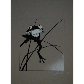 Regis Loisel signed serigraph - The frog