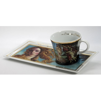 Botticelli coffee set : Venus