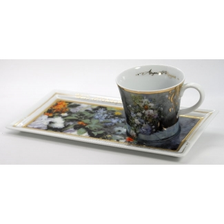 Renoir coffee set : Spring flowers