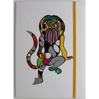 Niki De Saint Phalle Notebook - Lion