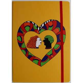 Niki De Saint Phalle Notebook - Couple