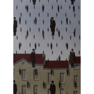 René Magritte Notebook - Golconde