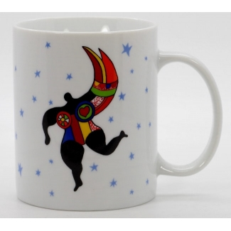 Mug Niki de Saint Phalle - Angel with stars
