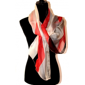 Delaunay Scarf - Waves