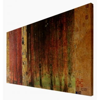 Klimt print on canvas - Forest I