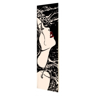 Manara print on canvas - Moon I