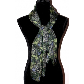 Foulard William Morris - Chardon