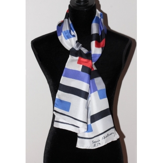 Delaunay Scarf - Rectangles