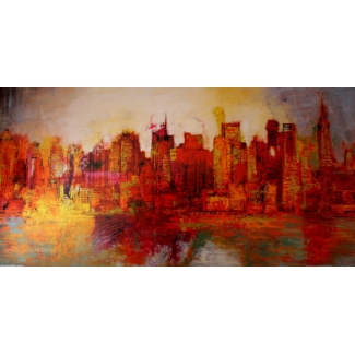 Lámina Brian Carter - Abstract New York