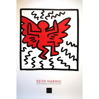 Stampa Keith Haring - AIDS memorial 1990