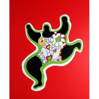 Niki De Saint Phalle Art Print - Nana Power