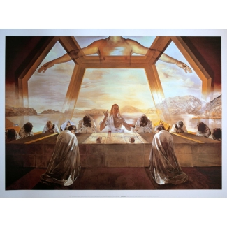 Salvador Dali Art Print - The Last Supper