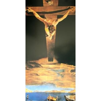 Salvador Dali Art Print - Christ of Saint John of the Cross