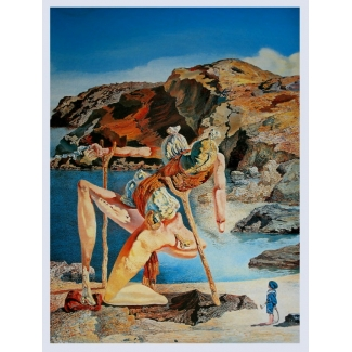 Salvador Dali Art Print - The Spectre Of Sex Appeal