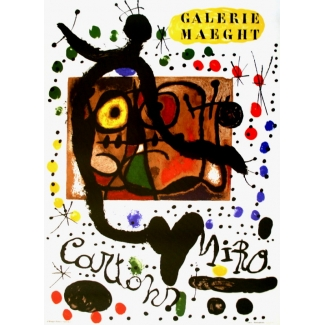 Joan Miro Art Print - Cartons