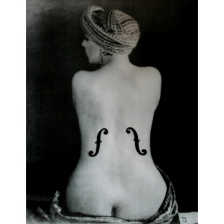 Affiche Man Ray - Le Violon d'Ingres