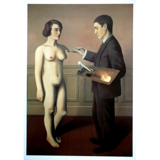 René Magritte Art Print - An Attempt at the Impossible