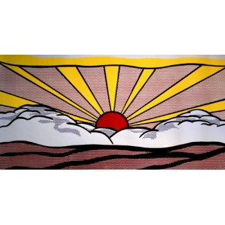 Affiche Roy Lichtenstein - Sunrise