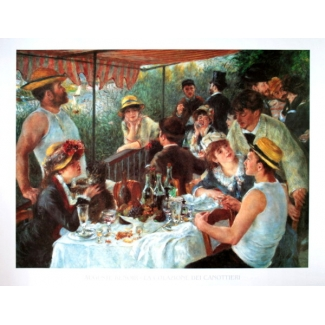 Auguste Renoir Art Print - The boaters