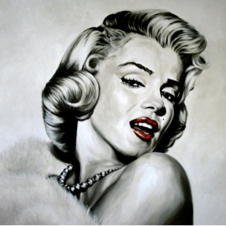 Stampa Frank Ritter - Dazzle (Marilyn Monroe)