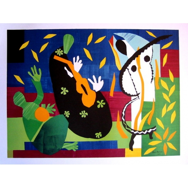 affiche henri matisse la tristesse du roi 80 x 60 cm. Black Bedroom Furniture Sets. Home Design Ideas