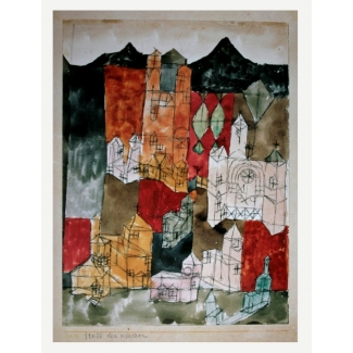 Stampa Paul Klee - Città delle chiese