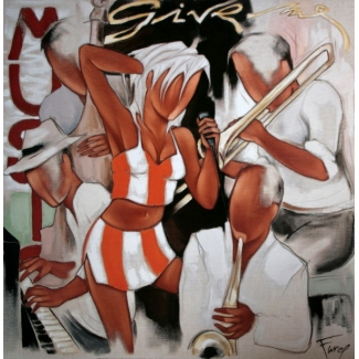 Affiche Pierre Farel - Give me Music