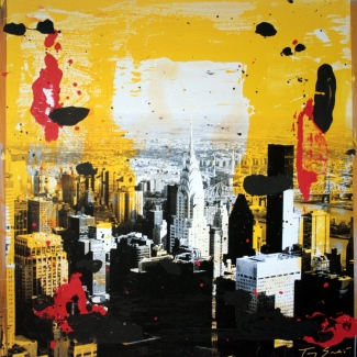 Affiche Tony Soulié - Yellow City