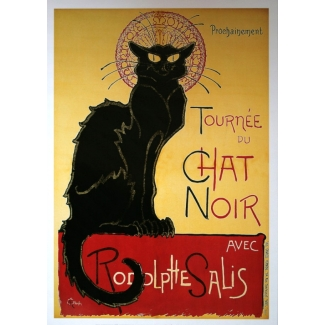Steinlen Art Print - The Black Cat Tour