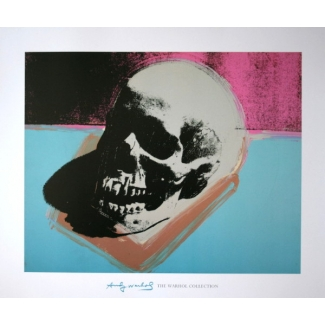Affiche Andy Warhol - Skull