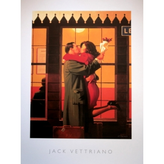 Affiche Jack Vettriano - Back Where You Belong