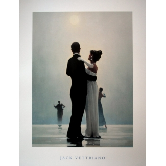 Affiche Jack Vettriano - Dance me to the end of love